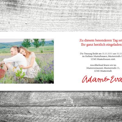 Hochzeit Fingerabdruck | 4-Seitig | ab 1,00 €