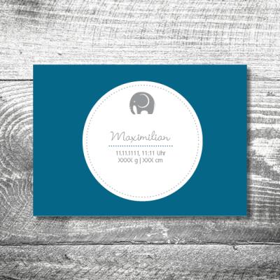 geburt elefant junge 1 400x400 - Baby & Kind Karten