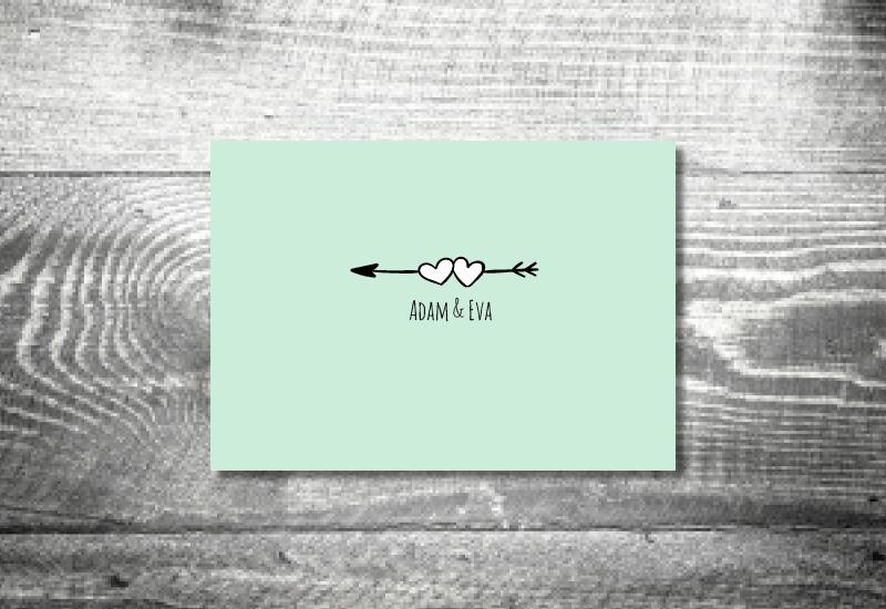 hochzeit 148x105 floral amor danke 1 - Hochzeitskarten Set