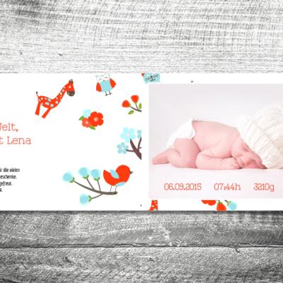 kartlerei geburtskarten 148x105 27 400x400 - Baby & Kind Karten