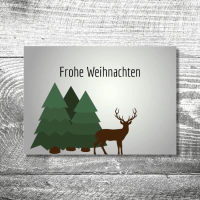 kartlerei weihnachten 148x105  400x400 - Waldlandschaft   2-Seitig   ab 0,70 €