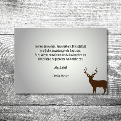 kartlerei weihnachten 148x105 2 400x400 - Waldlandschaft   2-Seitig   ab 0,70 €