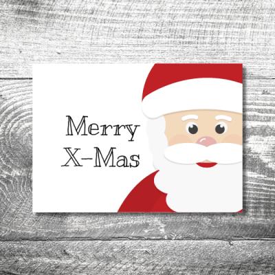 kartlerei weihnachten 148x105 4 13 400x400 - Merry X-Mas   2-Seitig   ab 0,70 €