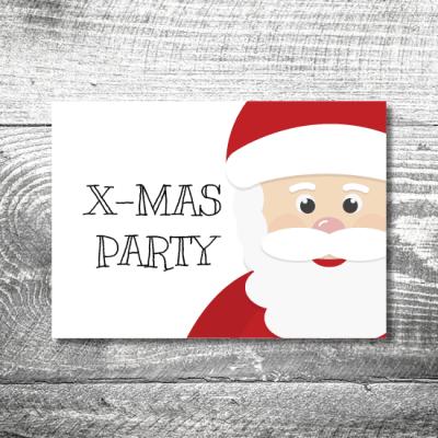 Party X-Mas | 2-Seitig | ab 0,70 €