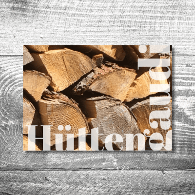 Hüttengaudi | 2-Seitig | ab 0,70 €