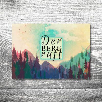 kartlerei karten drucken heimatgefuehl bayern einladungskarten13 1 400x400 - Der Berg ruft | 4-Seitig | ab 1,00 €