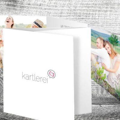 kartlerei karten drucken hochzeit einladung14 400x400 - Hochzeit Hochzeitspaar | 6-Seitig | ab 1,90 €