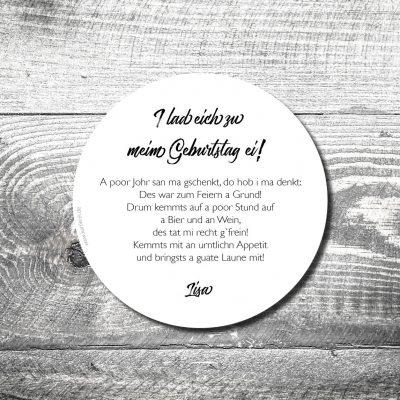 kartlerei bierdeckel karten drucken bayern bayerisch heimatgefuehl8 400x400 - Geburtstagseinladung