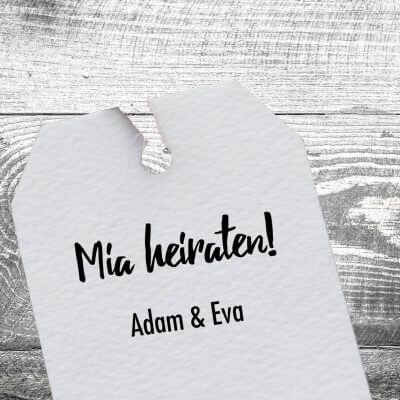 kartlerei stempel drucken hochzeit heiraten bayerisch 400x400 - Holzstempel Mia Heiraten