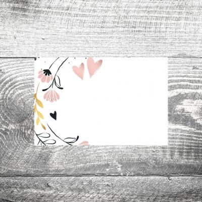 kartlerei tischkarte hochzeit bayerisch3 400x400 - Tischkarte Golden Flora