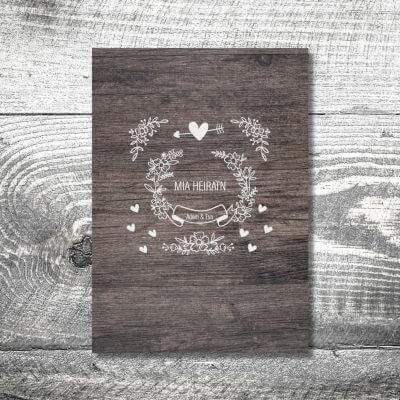 kartlerei karten drucken hochzeit heiraten menue menuekarte10 400x400 - Menükarte Vintage