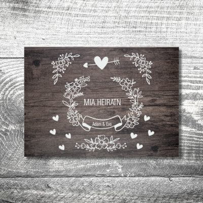 Save the Date Vintage | 2-Seitig | ab 0,70 €