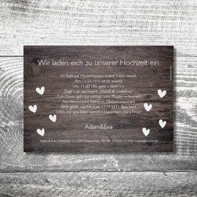 kartlerei karten drucken hochzeitseinladung heiraten bayern bayerisch heimatgefuehl hochzeit37 400x400 - Hochzeit Vintage | 2-Seitig | ab 0,70 €