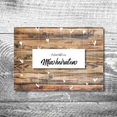 kartlerei karten drucken hochzeitseinladung heiraten bayern bayerisch heimatgefuehl hochzeit47 400x400 - Hochzeit Herzchenholz | 4-Seitig | ab 1,00 €