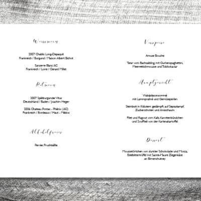 kartlerei einladungskarten hochzeitskarten menuekarten drucken karten gestalten hochzeit14 400x400 - Menükarte Hirschblümchen