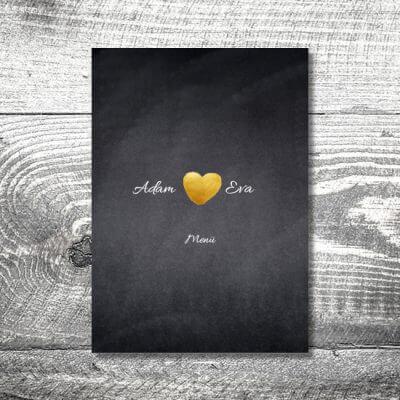 kartlerei einladungskarten hochzeitskarten menuekarten drucken karten gestalten hochzeit22 400x400 - Menükarte Herzgold