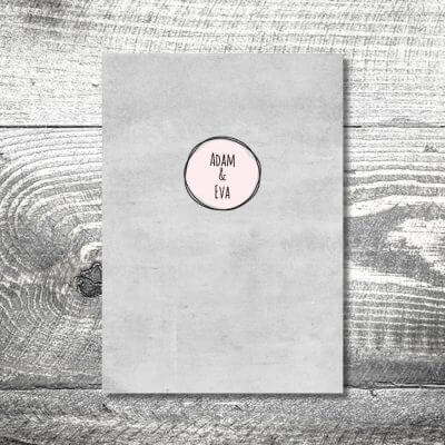 kartlerei einladungskarten hochzeitskarten menuekarten drucken karten gestalten hochzeit28 400x400 - Menükarte Vintagekreis