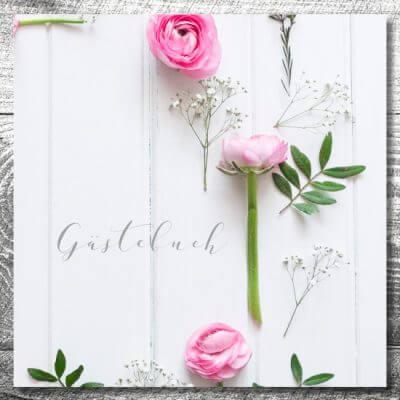 kartlerei gaestebuch hochzeit karten gestalten drucken6 400x400 - Gästebuch Romantik | ab 55,00 €