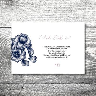 kartlerei karten drucken heimatgefuehl bayern bayrisch einladungskarten geburtstag bayerisch14 400x400 - Floralholz | 2-Seitig | ab 0,70 €