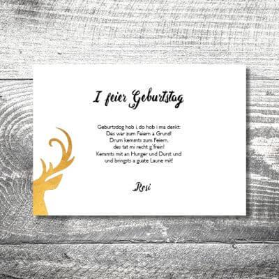 kartlerei karten drucken heimatgefuehl bayern bayrisch einladungskarten geburtstag bayerisch46 400x400 - Geburtstagseinladung auf Bayrisch