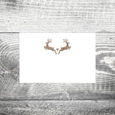 kartlerei tischkarten hochzeit karten gestalten drucken einladungskarten hochzeitseinladung 4 400x400 - Tischkarte Hirschn