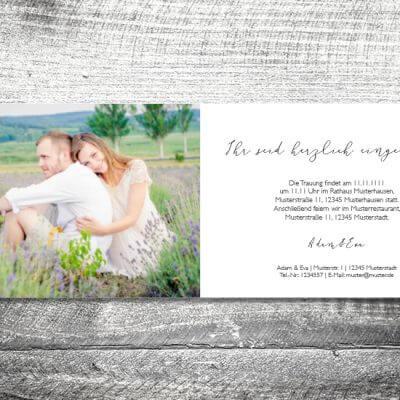 kartlerei hochzeit einladungskarten karten gestalten karten drucken hochzeitskarte 18 400x400 - Hochzeit Goldener Hirsch | 4-Seitig | ab 1,00 €