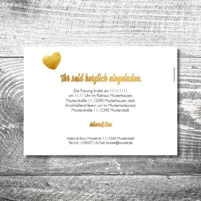 kartlerei hochzeit einladungskarten karten gestalten karten drucken hochzeitskarte 27 400x400 - Hochzeit Geweih | 2-Seitig  | ab 0,70 €