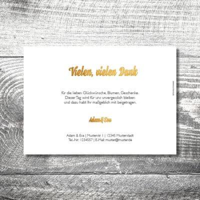 kartlerei hochzeit einladungskarten karten gestalten karten drucken hochzeitskarte 30 400x400 - Danke Geweih | 2-Seitig | ab 0,70 €