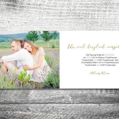 kartlerei hochzeit einladungskarten karten gestalten karten drucken hochzeitskarte 61 400x400 - Hochzeit Hirschblümchen | 4-Seitig | ab 1,00 €