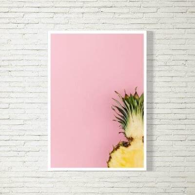 kartlerei poster bild drucken bayrisch spruch ananas 400x400 - Poster und Bilder