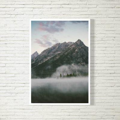 kartlerei poster bild drucken bayrisch spruch berge 400x400 - Poster und Bilder