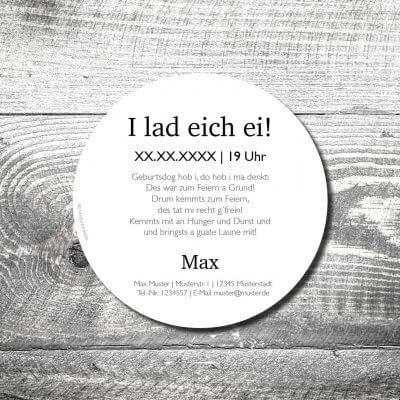 kartlerei bierdeckel drucken bayern bayerisch heimatgefuehl zefix 2 400x400 - Geburtstagseinladung