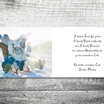 kartlerei karten drucken gestalten bayrische weihnachtskarten frecher hirsch 3 400x400 - Frecher Hirsch | 4-Seitig | ab 1,00 €