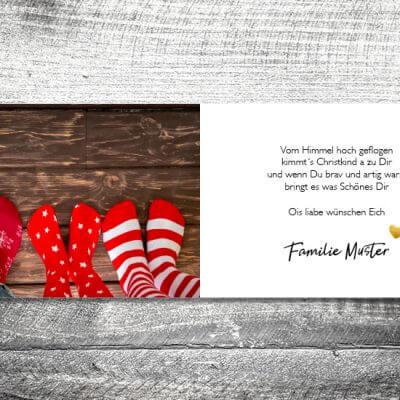 kartlerei karten drucken gestalten bayrische weihnachtskarten geweih modern 3 400x400 - Geweih modern | 4-Seitig | ab 1,00 €