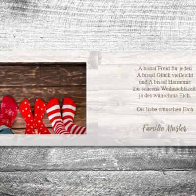 kartlerei karten drucken gestalten bayrische weihnachtskarten vintage 3 400x400 - Weihnachten vintage | 4-Seitig | ab 1,00 €