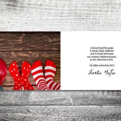 kartlerei karten drucken gestalten bayrische weihnachtskarten winterhirsch 3 400x400 - Winterhirsch | 4-Seitig | ab 1,00 €