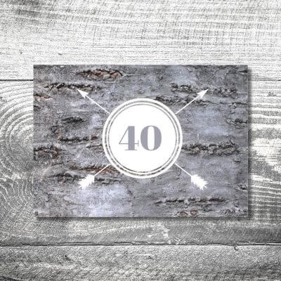 kartlerei karten drucken heimatgefuehl bayern einladungskarten bayrisch baumstamm 400x400 - Baumstamm | 2-Seitig | ab 0,70 €