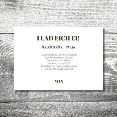 kartlerei karten drucken heimatgefuehl bayern einladungskarten bayrisch hirsch leinen 2 400x400 - Hirsch Leinen | 2-Seitig | ab 0,70 €