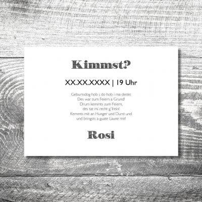 kartlerei karten drucken heimatgefuehl bayern einladungskarten bayrisch hirsch retro 2 400x400 - Hirsch Retro | 2-Seitig | ab 0,70 €