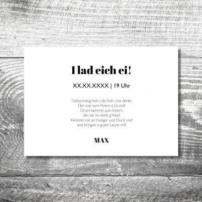 kartlerei karten drucken heimatgefuehl bayern einladungskarten bayrisch hirschwappen holz 2 400x400 - Hirschwappen Holz | 2-Seitig | ab 0,70 €