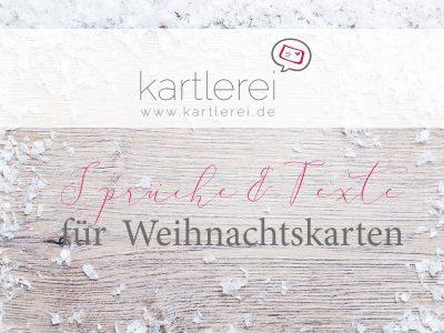 kartlerei weihnachtskarten sprueche und texte einladungskarten bayrisch 400x300 - kartlerei Magazin