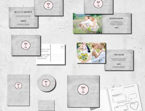 Hochzeitskarten Set – Alles muss perfekt sein!