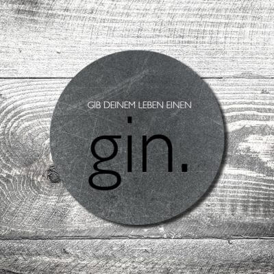 Bierdeckel Gin