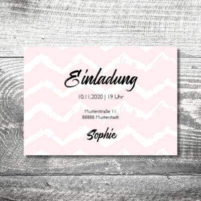 kartlerei karten drucken einladungskarte geburtstag geburtstagseinladung drucken gestalten46 400x400 - Happy Birthday to me | 2-Seitig | ab 0,70