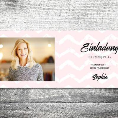 kartlerei karten drucken einladungskarte geburtstag geburtstagseinladung drucken gestalten47 400x400 - Happy Birthday to me | 4-Seitig | ab 1,00 €