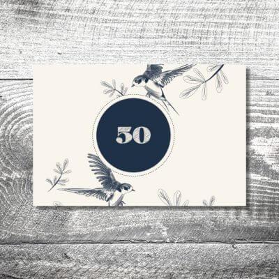 kartlerei karten drucken einladungskarte geburtstag geburtstagseinladung drucken gestalten5 400x400 - Freier Vogel | 2-Seitig | ab 0,70