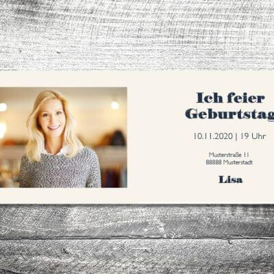 kartlerei karten drucken einladungskarte geburtstag geburtstagseinladung drucken gestalten7 400x400 - Freier Vogel | 4-Seitig | ab 1,00 €