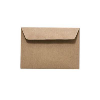 Umschläge DIN C6 114 x 162 mm – Recyclingpapier mit Haftstreifen