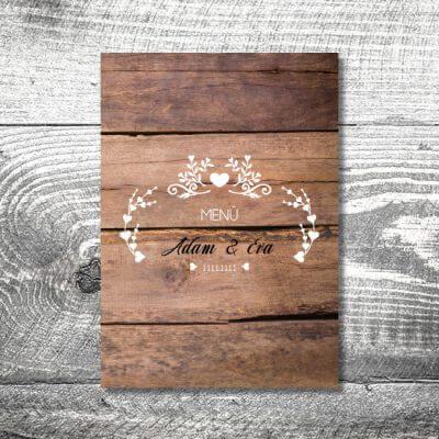 kartlerei karten drucken hochzeit heiraten menue menuekarte anker vintageholz 400x400 - Menükarte Vintageholz