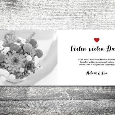 kartlerei karten drucken hochzeitseinladung heiraten dankeskarte fotolove innen 400x400 - Danke Fotolove | 4-Seitig | ab 1,00 €
